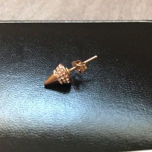Jewelry - Vita Fede titan rose gold stud earring